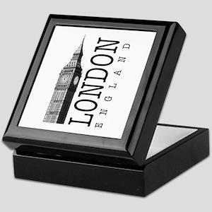 London Big Ben Keepsake Box