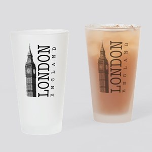 London Big Ben Drinking Glass