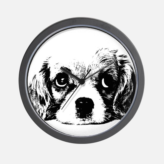 (kids) Sad Puppy Face Wall Clock
