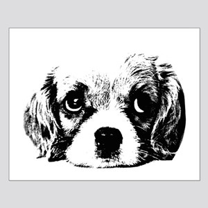 (kids) Sad Puppy Face Posters Small Poster