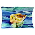 Boat at Sea Pillow Case