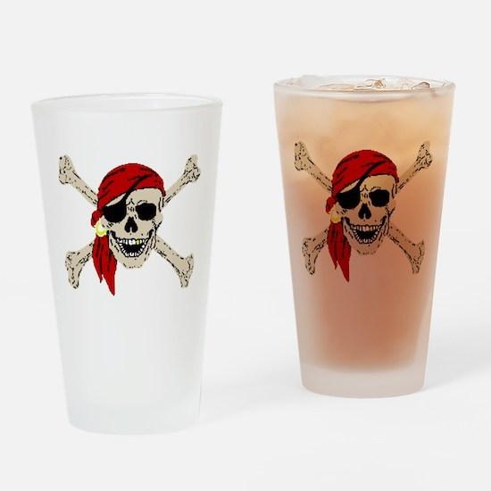 piratesSkull2Atrans.png Drinking Glass