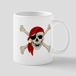 Piratesskull2atrans Mugs