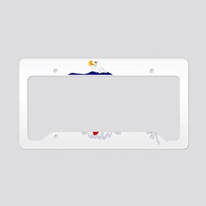 American Eagle Flag License Plate Holder