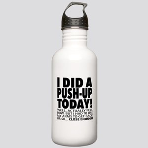 Push-up Stainless Water Bottle 1.0L