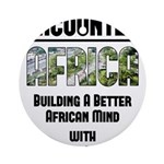 EAfrica Round Ornament
