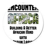 EAfrica Round Car Magnet