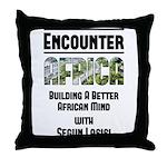 EAfrica Throw Pillow