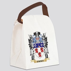 Carney Coat of Arms - Family Cres Canvas Lunch Bag