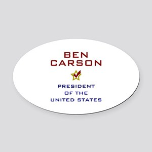 Ben Carson for President USA Oval Car Magnet
