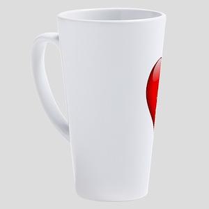 Sarah's Sacred Heart 17 oz Latte Mug
