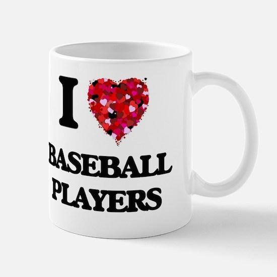 I love Baseball Players Mug