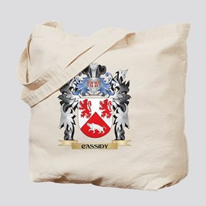 Cassidy Coat of Arms - Family Crest Tote Bag