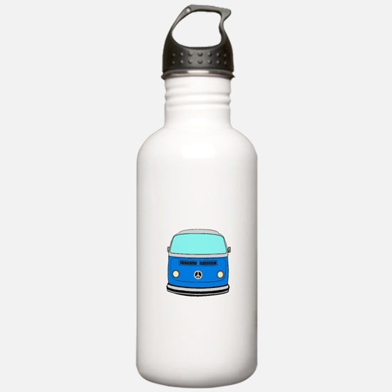 blue camper Water Bottle