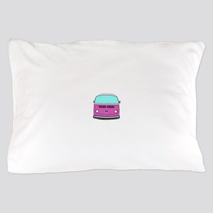 pink camper Pillow Case