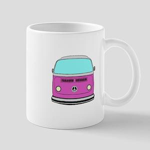 pink camper Mugs