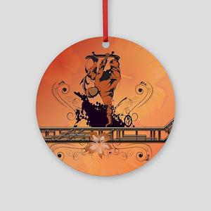 Skadeboarder Ornament (Round)