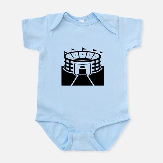Black Stadium Infant Bodysuit