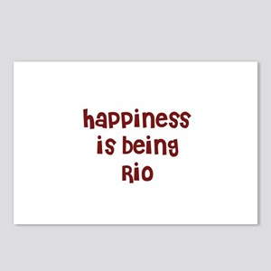 happiness is being Rio Postcards (Package of 8)
