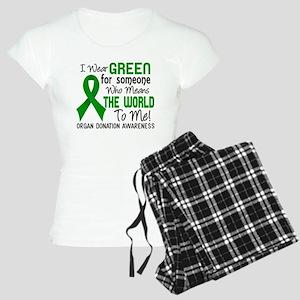 Organ Donation MeansWorldTo Women's Light Pajamas