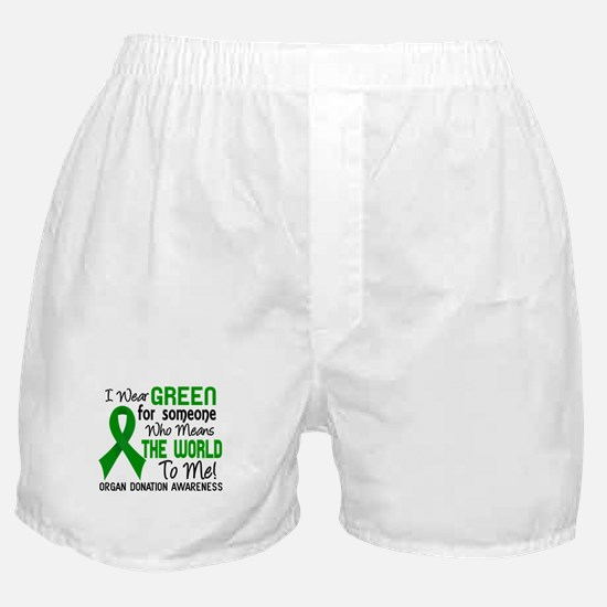 Organ Donation MeansWorldToMe2 Boxer Shorts
