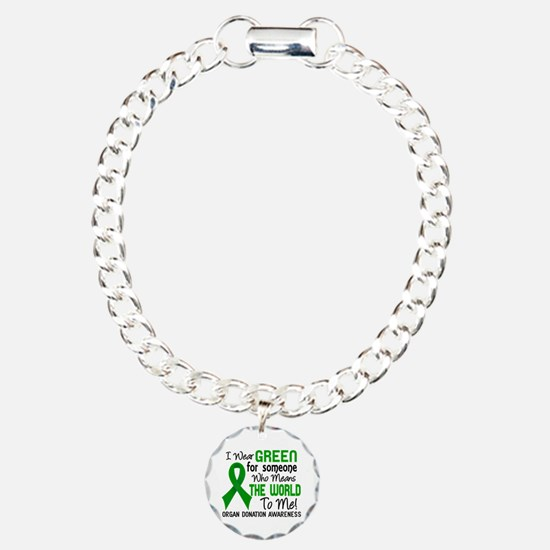 Organ Donation MeansWorl Bracelet
