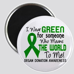 Organ Donation MeansWorldToMe2 Magnet