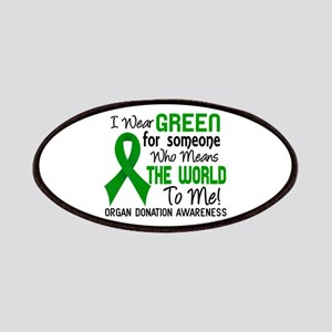 Organ Donation MeansWorldToMe2 Patch