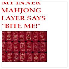 mahjong joke Poster