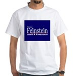 DIANNE FEINSTEIN PRESIDENT 2008 White T-Shirt