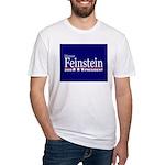 DIANNE FEINSTEIN PRESIDENT 2008 Fitted T-Shirt