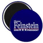 DIANNE FEINSTEIN PRESIDENT 2008 Magnet