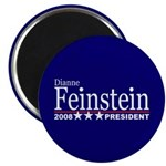 DIANNE FEINSTEIN PRESIDENT 2008 2.25