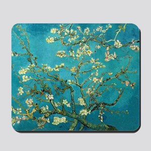 Vincent Van Gogh Blossoming Almond Tree Mousepad