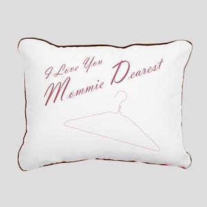 I Love You Mommie Dearestrectangular Canvas Pillow