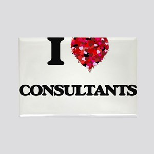 I love Consultants Magnets