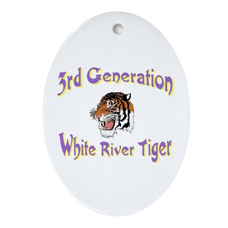 3rd Generation Oval Ornament
