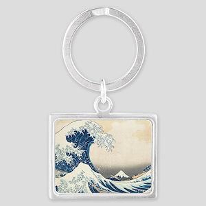 wave Landscape Keychain