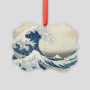 wave Picture Ornament