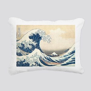 wave Rectangular Canvas Pillow