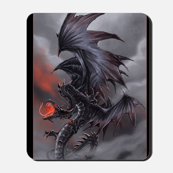 The Dragon of Despair Mousepad