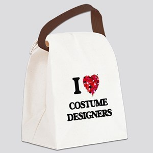 I love Costume Designers Canvas Lunch Bag