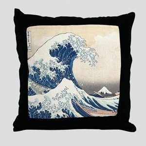 wave hello Throw Pillow