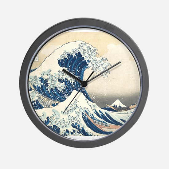 Wave Detail Wall Clock
