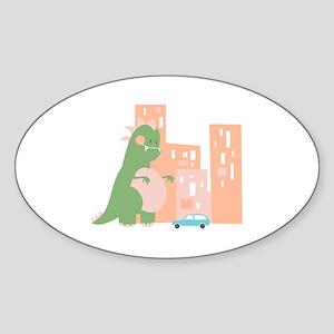 City Kaiju Sticker