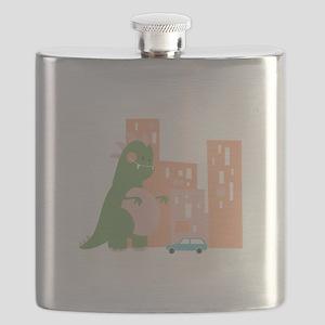 City Kaiju Flask