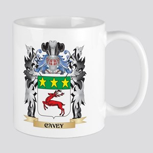Cavey Coat of Arms - Family Crest Mugs