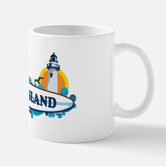 Long Island - New York. Mug