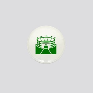 Green Stadium Mini Button