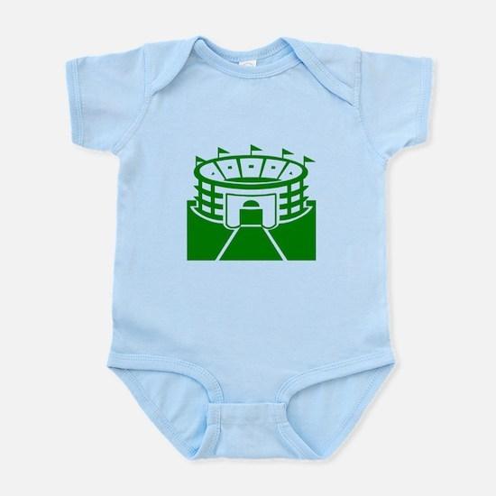 Green Stadium Infant Bodysuit